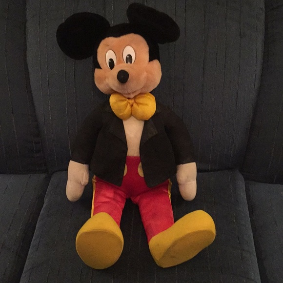 e03ee8e0e612 Disney Other | Vintage 28 Mickey Mouse In Tuxedo From Early 1970 ...